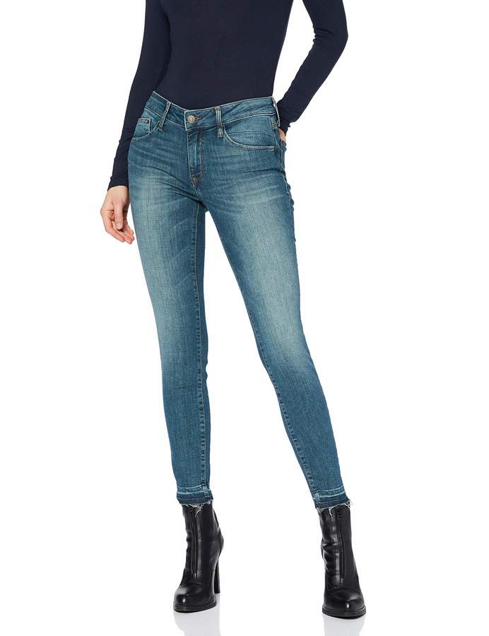 Mavi Jeans Women's Adriana Ankle Skinny Jeans (Close-Fitting Leg)