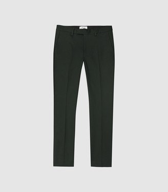 Reiss Eastbury Slim - Slim Fit Chinos in Green