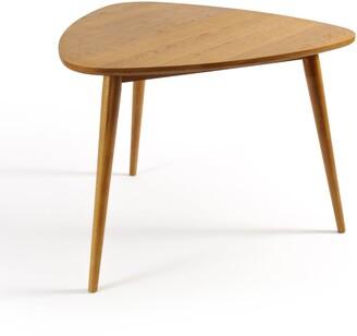 La Redoute Interieurs Quilda Retro-Style Oak Table (Seats 3)