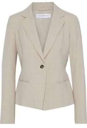 Max Mara Albert Wool-blend Twill Blazer