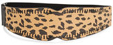 Betsey Johnson Animal Print Stretch Belt