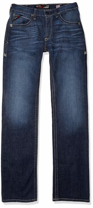 Ariat Men's Big and Tall Flame Resistant M5 Slim Fit Straight Leg Jean