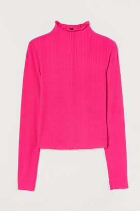 H&M Mock-turtleneck Top