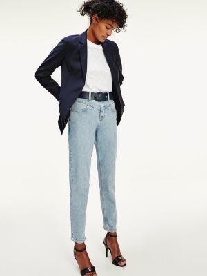 Tommy Hilfiger Gramercy Mom Fit High Rise Stonewash Jeans