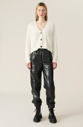 Ganni Lamb Leather Pants