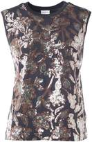 Dries Van Noten Haiko Sequin-embellished Cotton-jersey T-shirt