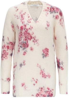 Philosophy di Lorenzo Serafini Floral Sweater