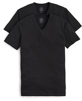 Calvin Klein Cotton Stretch V-Neck Tee, Pack of 2