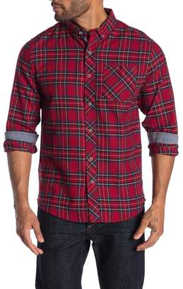 Report Collection Plaid Flannel Shirt