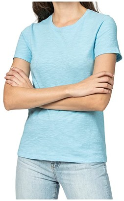 Lilla P Short Sleeve Back Seam Tee (Black) Women's T Shirt
