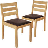 Marks and Spencer 2 Sonoma Light Dining Chairs