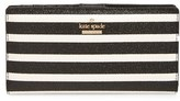Kate Spade Women's Hawthorne Lane Stacy Glitter & Faux Leather Wallet - Black