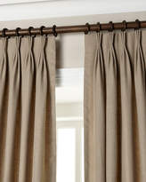 "Eastern Accents Each 20""W x 108""L Pinch-Pleat Linen Curtain"