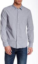 Save Khaki Melange Simple Classic Fit Shirt