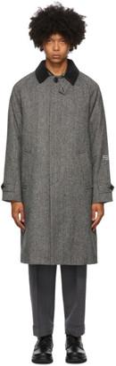 MONCLER GENIUS 7 Moncler Fragment Hiroshi Fujiwara Grey Down Valloryx Coat