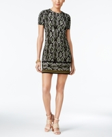 MICHAEL Michael Kors Petite Printed Fit & Flare Dress, a Macy's Exclusive Style