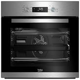 Beko BIE22300XD Integrated Single Oven, Stainless Steel