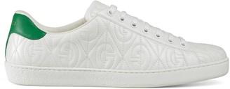 Gucci Men's Ace G rhombus sneaker