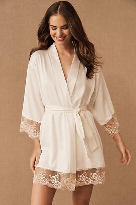 Flora Nikrooz Rosa Kimono By in White Size XS