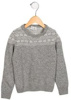 Moncler Boys' Patterned Wool-Blend Sweater