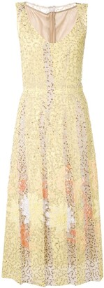Marni Sequin Midi Dress