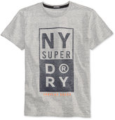 Superdry Men's Surplus Goods Graphic-Print Logo Cotton T-Shirt