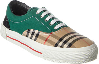 Burberry Vintage Check Canvas Sneaker