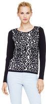 Club Monaco Breanna Leopard Print Sweater