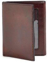 Bosca Men's 'Old Leather' Trifold Wallet - Brown