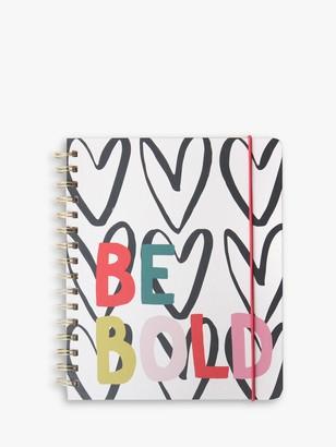 Caroline Gardner Be Bold Holiday Planner Notebook