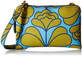 Orla Kiely Damask Flower Textured Vinyl Poppy Shoulder Bag