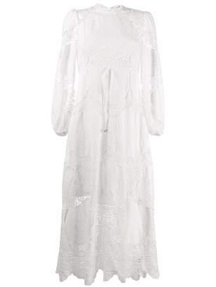 Zimmermann Bonita Eyelet Midi Dress