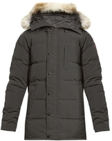 Canada Goose Carson Fur-trimmed Down Coat