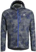 Salomon Fast Wing Sports Jacket Dove Grey/dark Cloud/blue Yonder