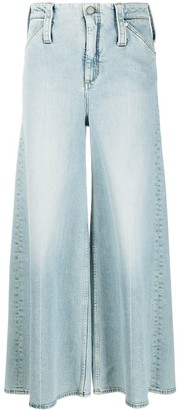 Dorothee Schumacher Cropped Wide-Leg Jeans