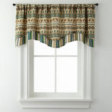 Asstd National Brand Lodge Elements Double Layer Rod-Pocket Valance