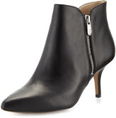 Adrienne Vittadini Double-Zip Pointed-Toe Bootie