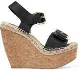 Paloma Barceló Nicole Leather Wedge Sandals