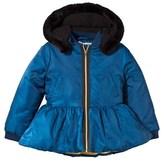 The BRAND Blue Peplum Coat