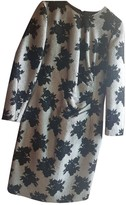 Carolina Herrera Grey Silk Dress for Women