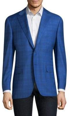 Canali Plaid Wool Sportcoat