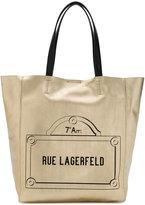 Karl Lagerfeld Rue Lagerfeld shopper tote