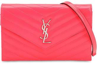 Saint Laurent SMALL QUILTED PATENT LEATHER BAG