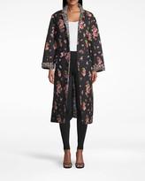 Nicole Miller Pink Dawn Reversible Oversized Jacket