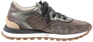 Brunello Cucinelli Paneled Low-Top Sneakers