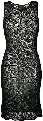 Dolce & Gabbana Pre-Owned sleeveless crochet dress