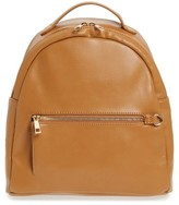 BP Faux Leather Backpack - Beige