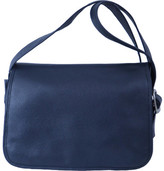 Women's Piel Leather Flap-Over Crossbody Bag 3113