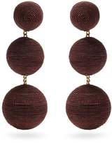 REBECCA DE RAVENEL Cindy drop earrings