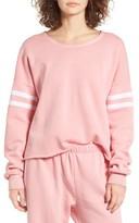 Wildfox Couture Women's 5Am Varsity Stripe Sweatshirt